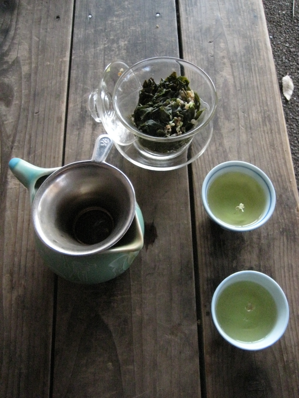 ギンモクセイのお茶
